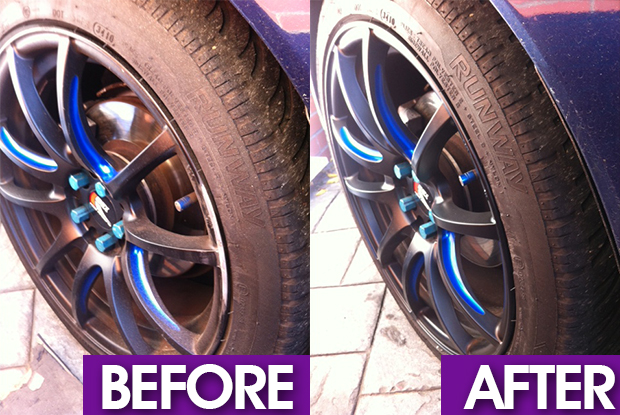 Cardiff alloy wheel refurbishment