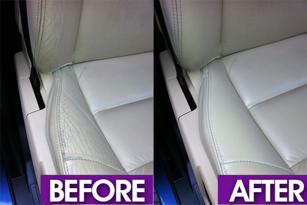 car leather bolster refurbishment