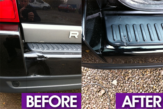 car bumper repair Cardiff