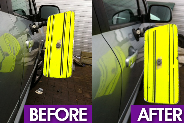 Cardiff dent removal