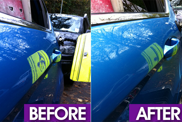 dent removal Cardiff